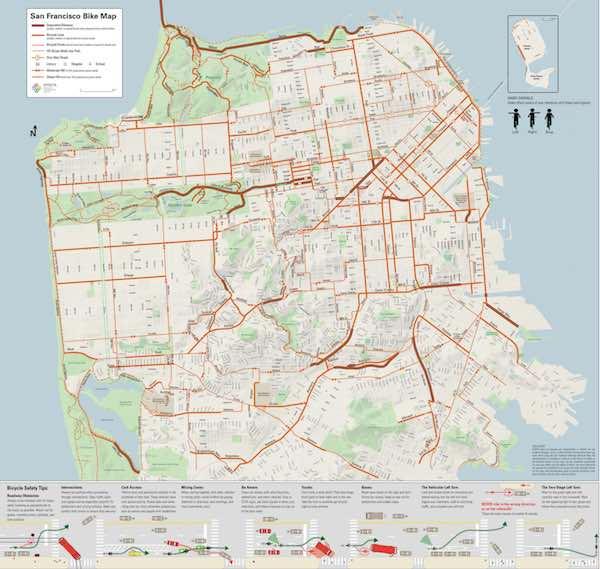 SF Bike Map